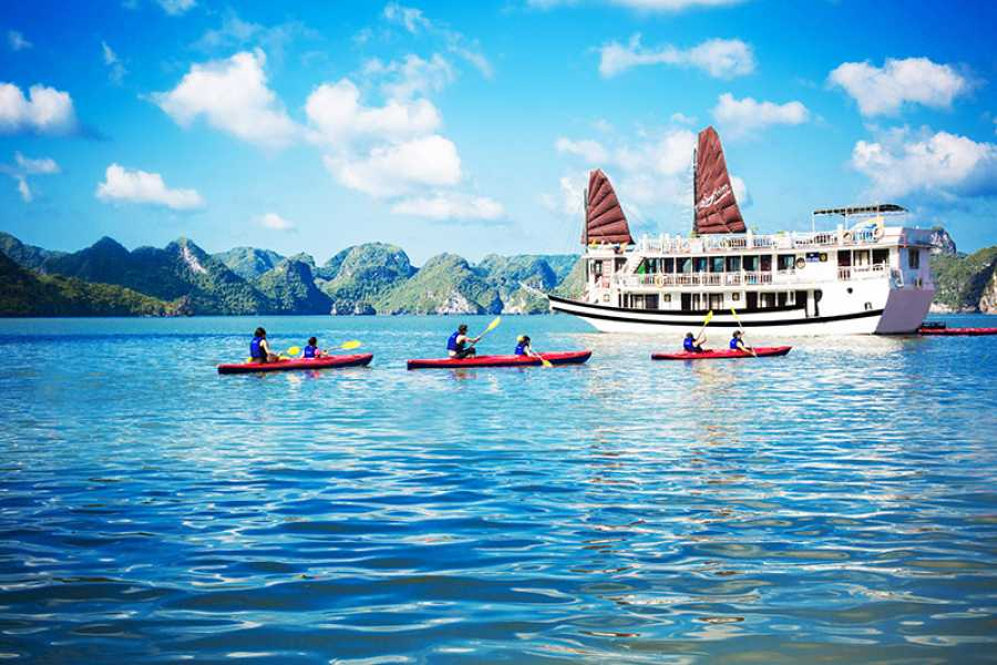 OCEAN TOURS Ocean Sails 3D2N 3 STARS - BAI TU LONG BAY