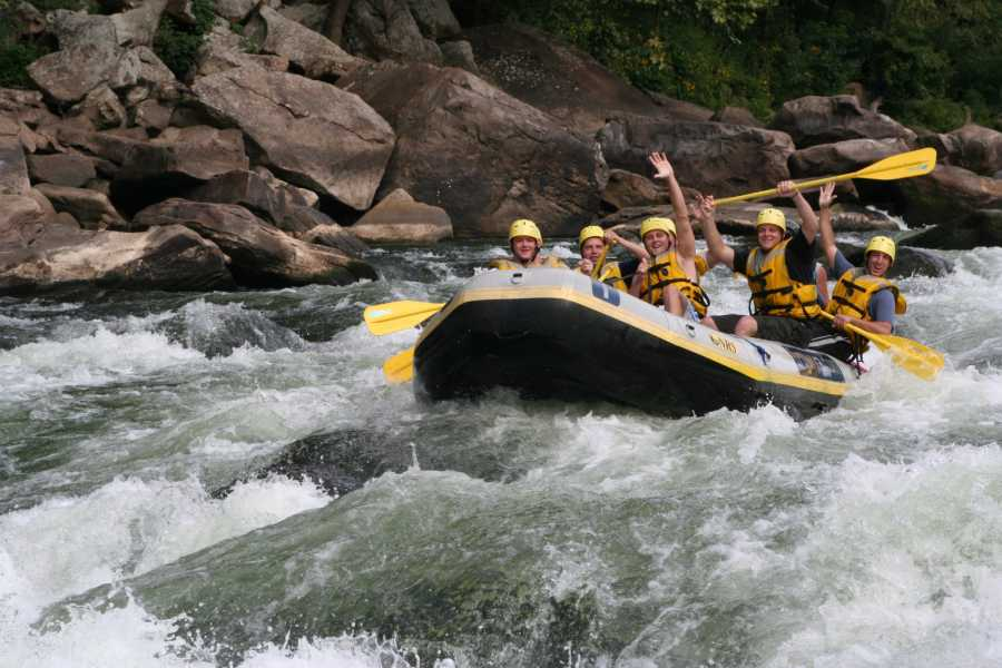 West Virginia Adventures Lower New River Day Trip with Lunch, Class III/IV