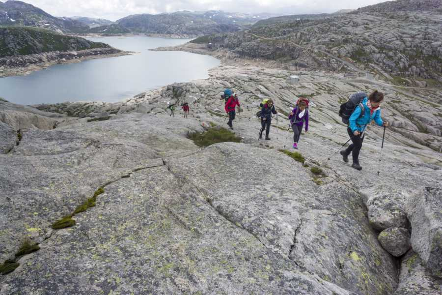 Outdoorlife Norway AS Lysefjord hike (Flørli and Kjerag)