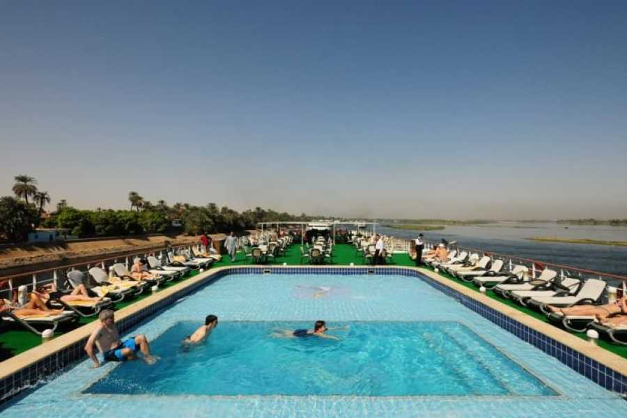 EMO TOURS EGYPT Royal Ruby Deluxe Nile Cruise trips from Aswan to Luxor for 4 days 3 Nights