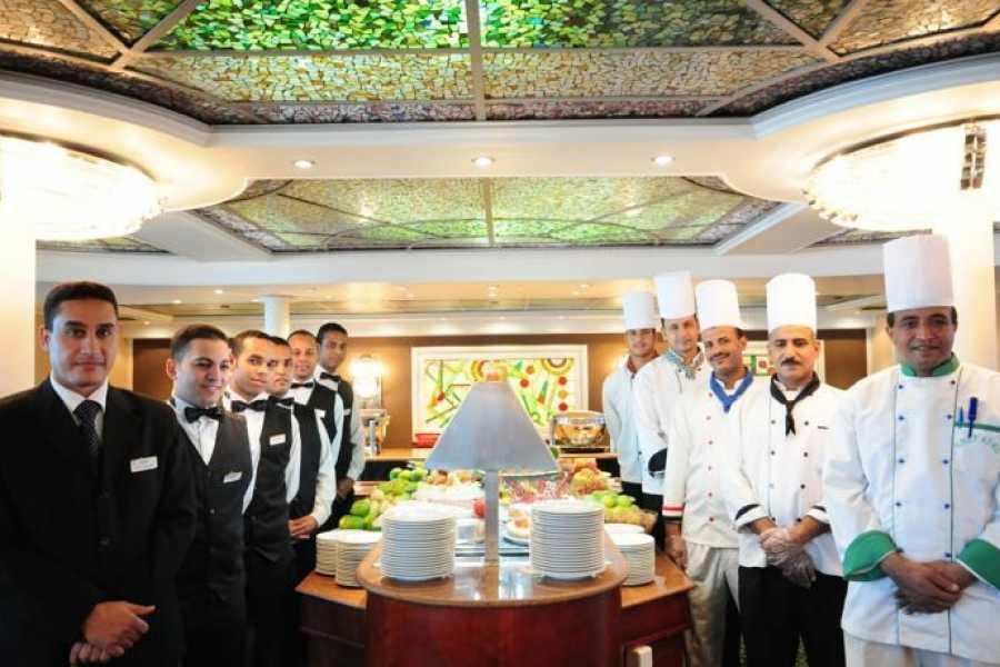 EMO TOURS EGYPT 皇家红宝石豪华尼罗河游船从阿斯旺到卢克索4天3夜