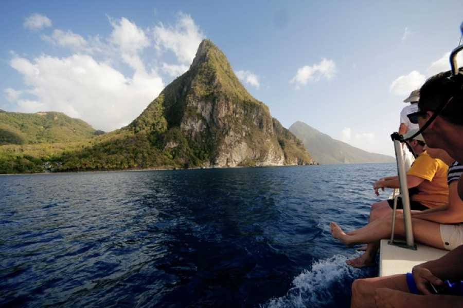Eco Adventures Saint Lucia Tours SUNSET CRUISE ADVENTURE