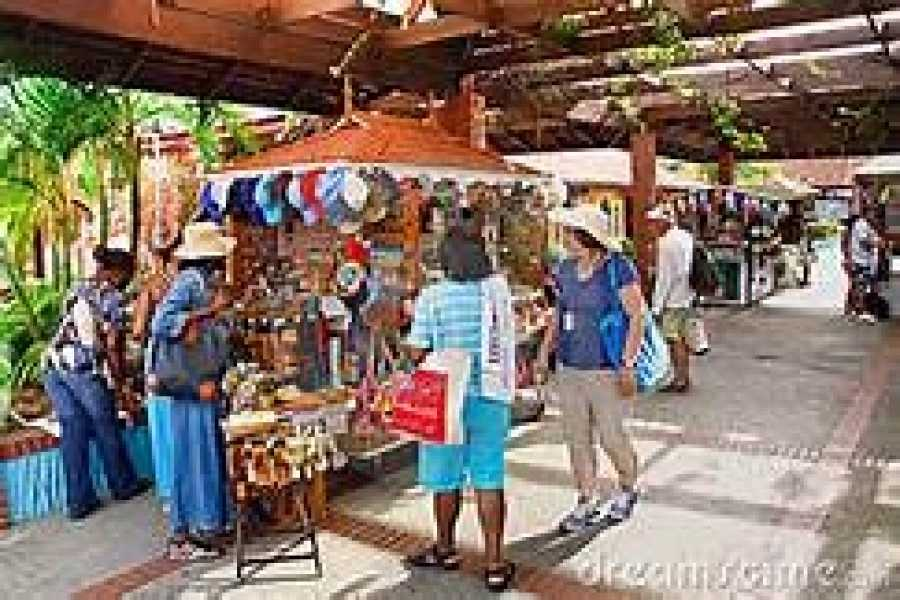 Eco Adventures Saint Lucia Tours POINTE SERAPHINE DUTY FREE SHOPPING ADVENTURE