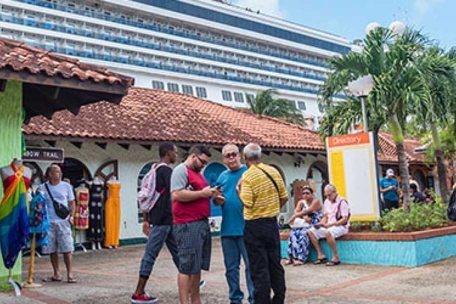 Eco Adventures Saint Lucia Tours POINTE SERAPHINE DUTY FREE SHOPPING ADVENTURE