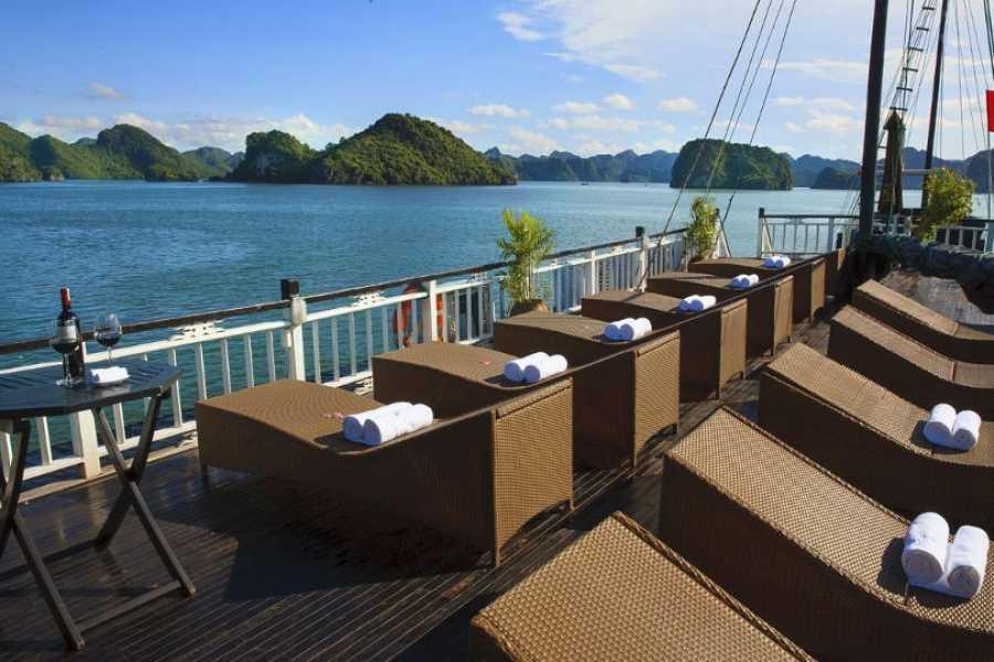 Friends Travel Vietnam Bai Tho Junk Cruise | Halong Bay 2D1N