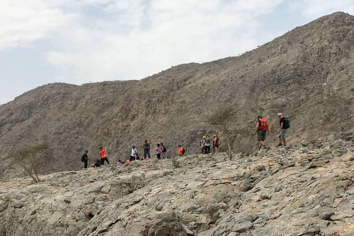 Adventurati Outdoors Obstacle Challenge Hike - UAE - Intermediate