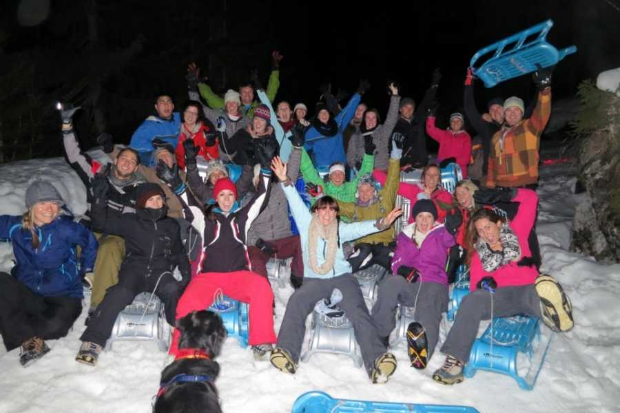 Outdoor Interlaken AG 夜间雪橇(Night Sledding)