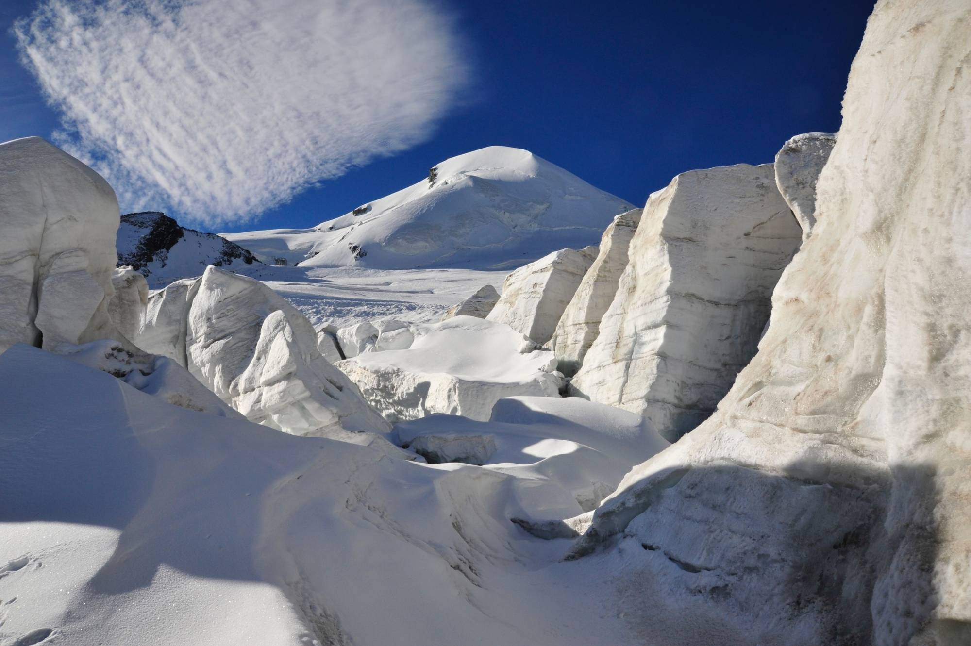 Klettergurt Skitour : Allalinhorn 4027m skitour saas fee guides