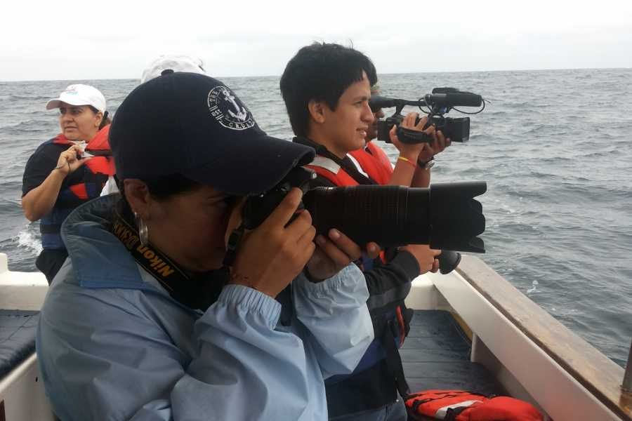 PALO SANTO TRAVEL WHALE WATCHING WITH RESEARCHERS | ECUADOR | PUERTO LOPEZ