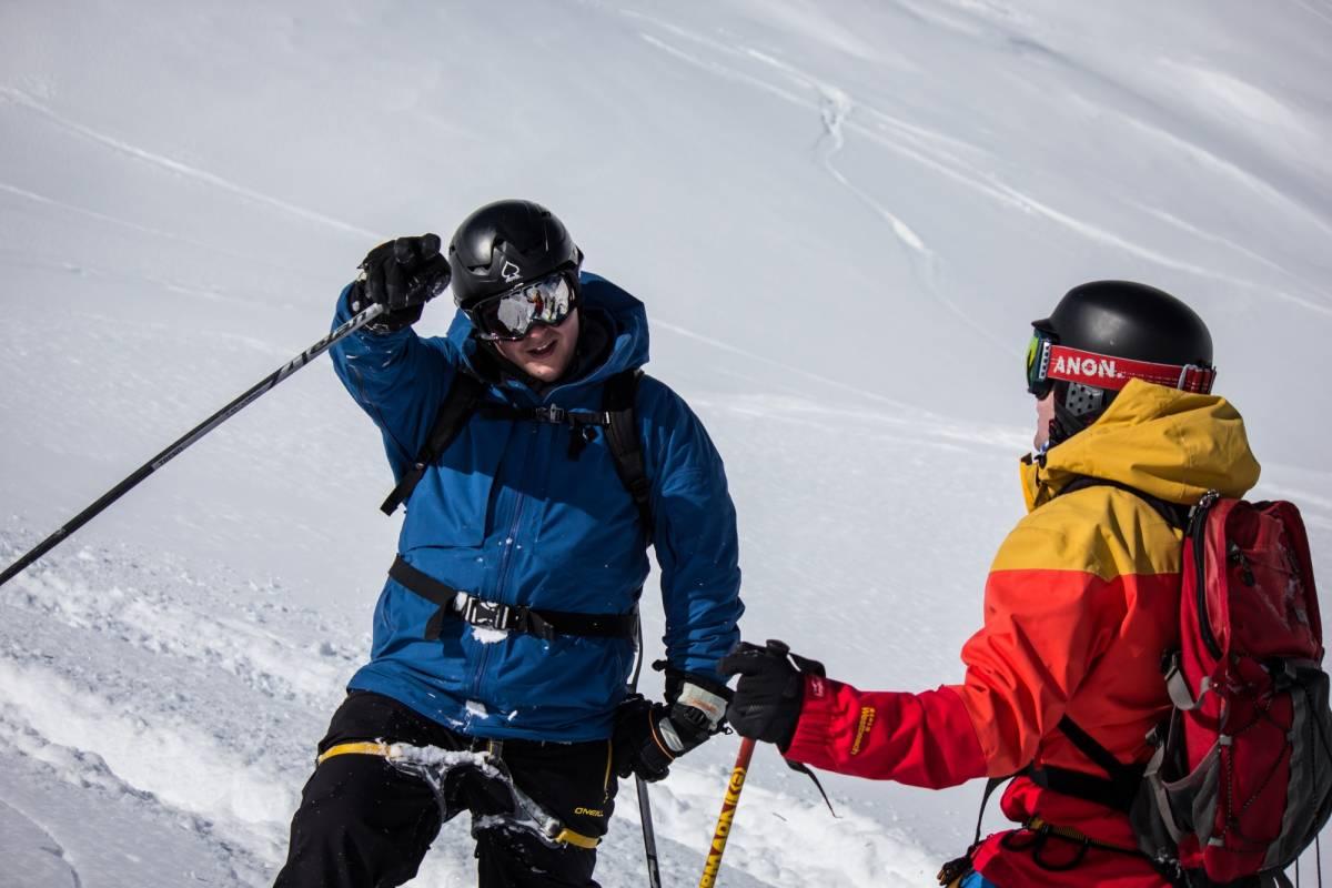 Saas-Fee Guides Freeride Tag