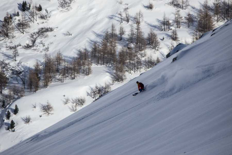 Saas-Fee Guides Freeride day