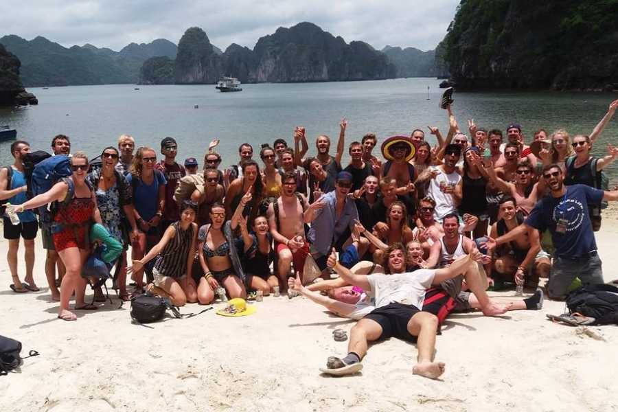 Friends Travel Vietnam HA LONG BAY AND CASTAWAYS ISLAND 3 DAYS 2 NIGHTS