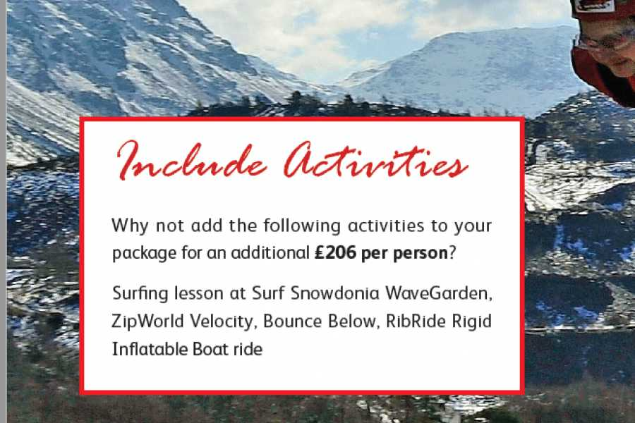 Cambria Tours North Wales Adventure