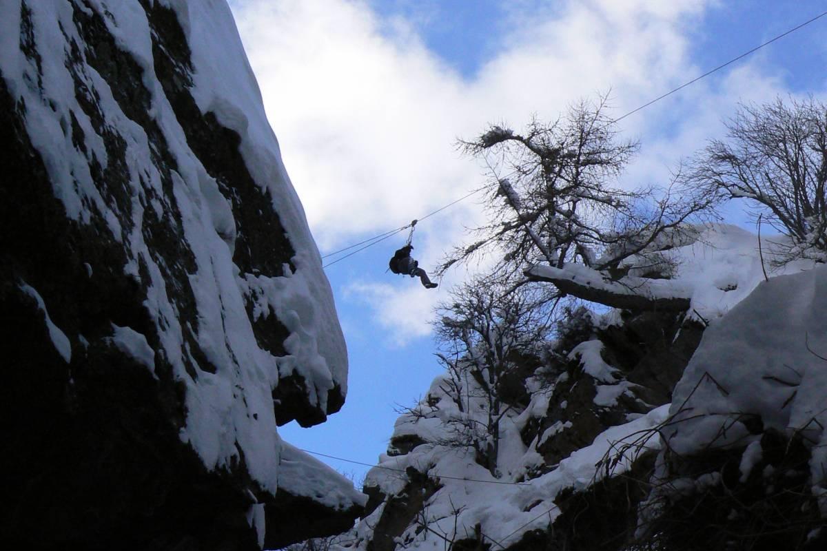Saas-Fee Guides Winter-Klettersteig Gorge Alpine