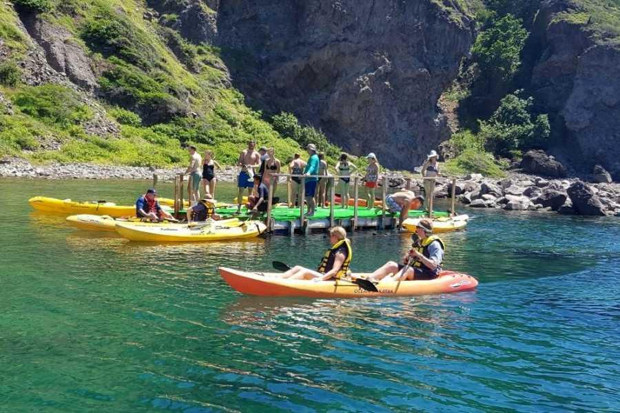 Blue Water Safaris Kayak and Snorkel Adventure of St Kitts