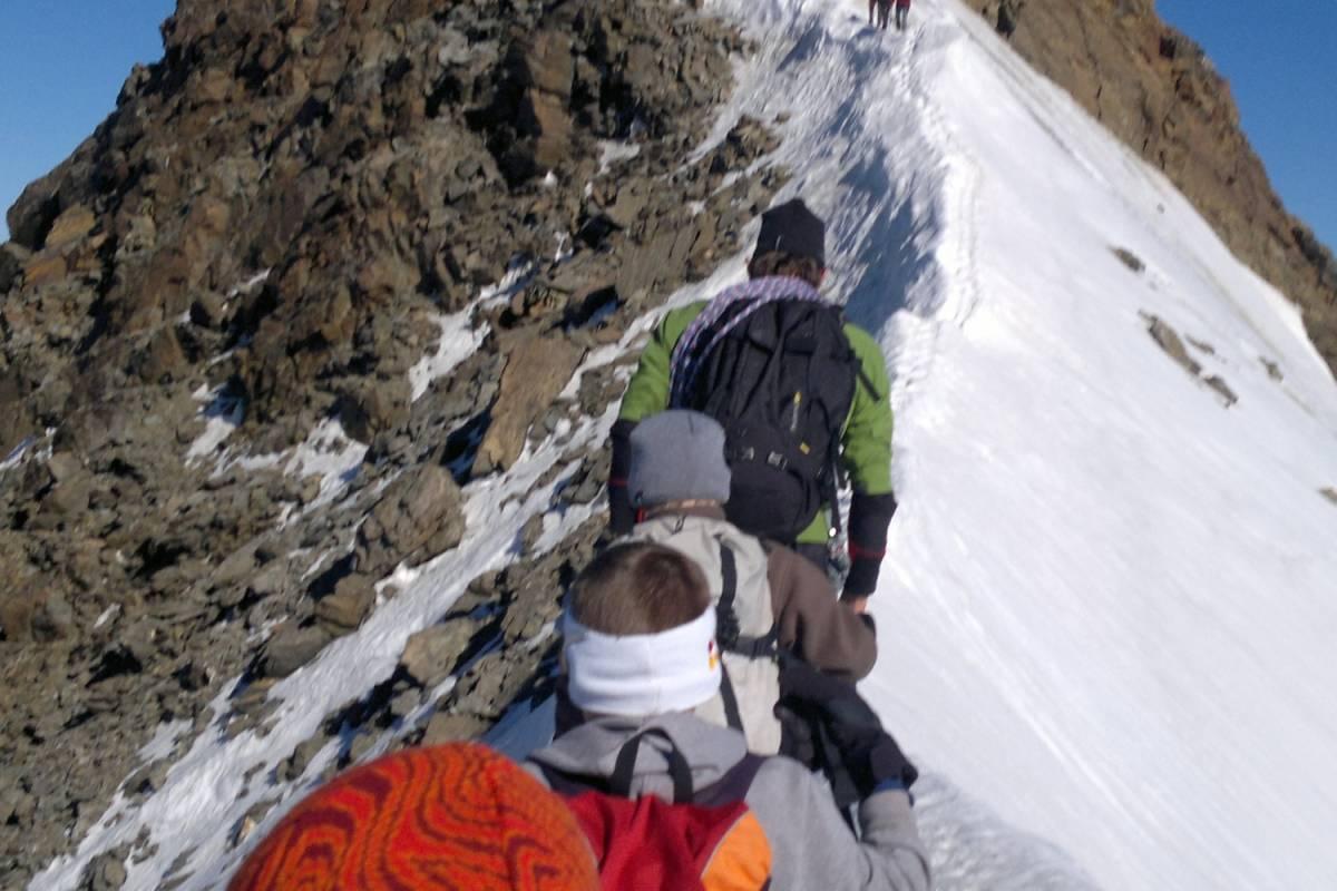 Saas-Fee Guides Weissmies 4023m