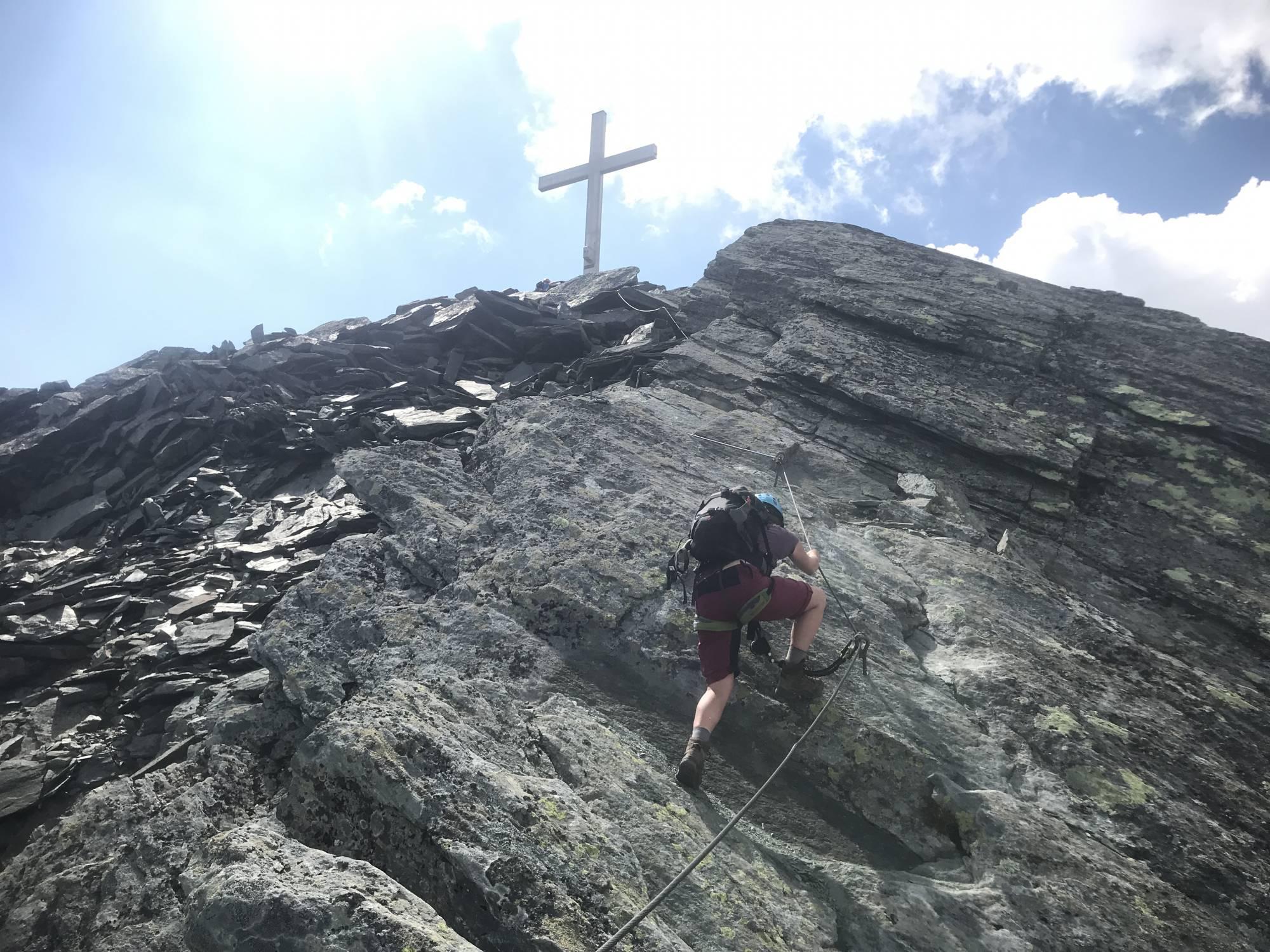 Klettergurt Via Ferrata : Klettersteige korsika via ferrata