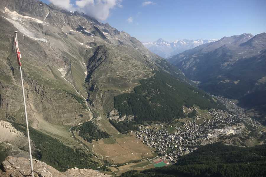 Saas-Fee Guides Mittaghorn 3143m via ferrata