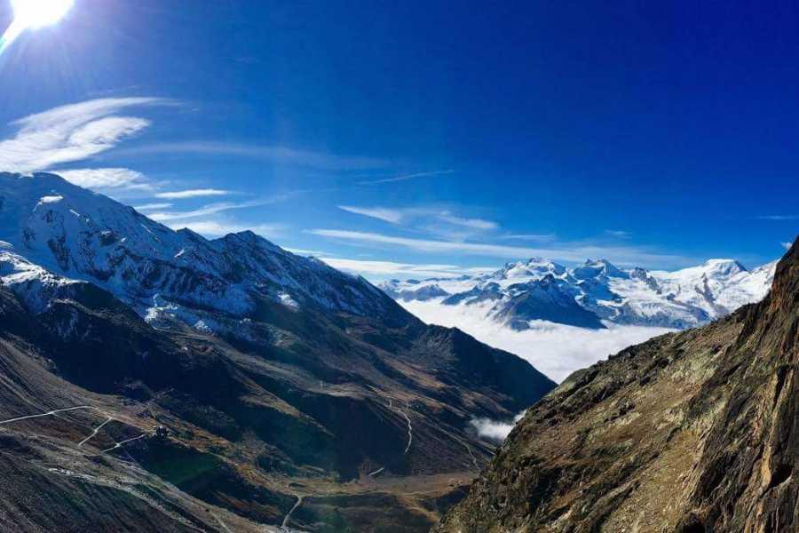 Saas-Fee Guides Jägihorn 3206m Via Ferrata