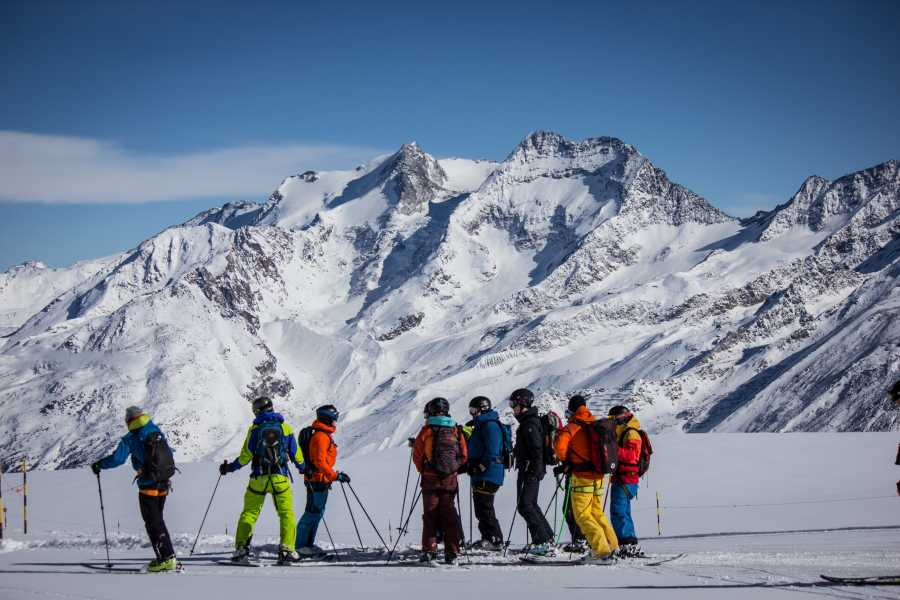 Saas-Fee Guides Ski Safari