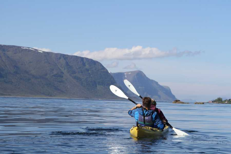 KMT Kayak Ålesund's Fjords and Hike Sugar Summit