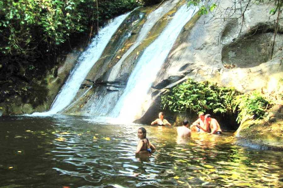 AMICI MIEI PHUKET TRAVEL AGENCY CHIANG MAI TREKKING 2 DAYS 1 NIGHT : VILLAGES-WATERFALL-ELEPHANT BATHS-FOREST