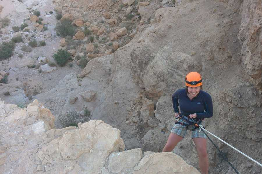 Wild-Trails Canyoning in Israel - Halamish canyon