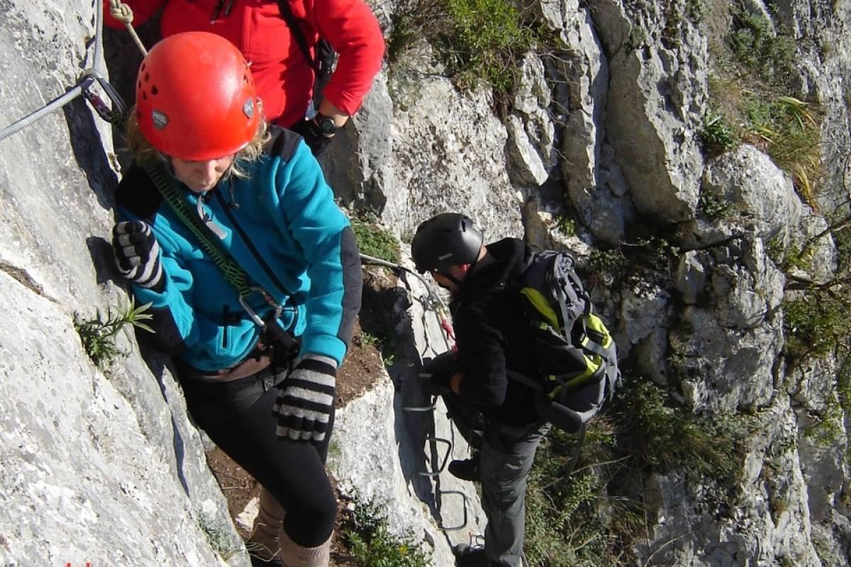 Wild-Trails Via Ferata in Romania - Turda Gorge