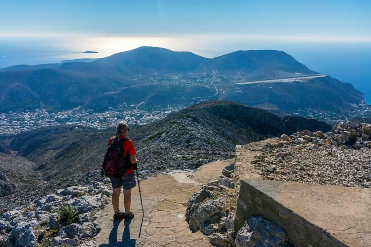 Spa Treks - Activ Adventure Kalymnos Island round tour – A Greek Island paradise challenge