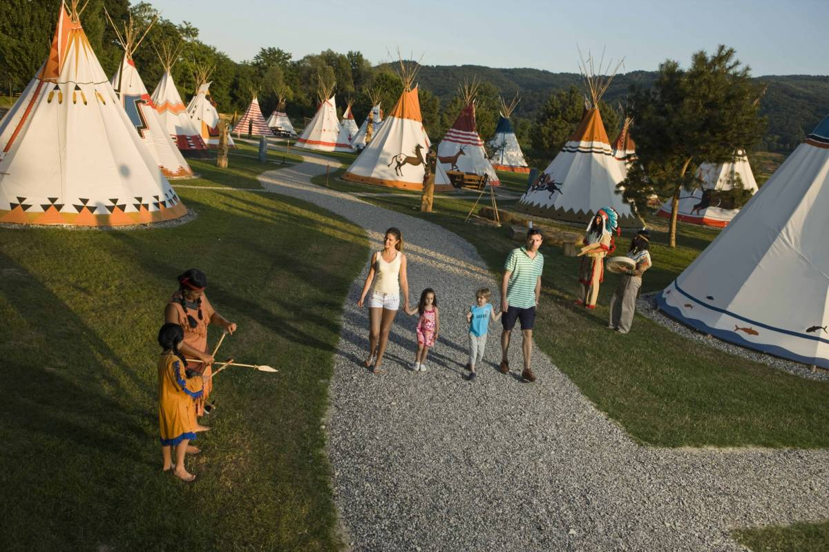 Nature Trips Terme Catez - Indian Village Camping