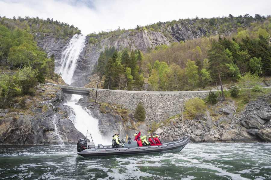 Balestrand adventure as Nærøyfjorden RIB Tour
