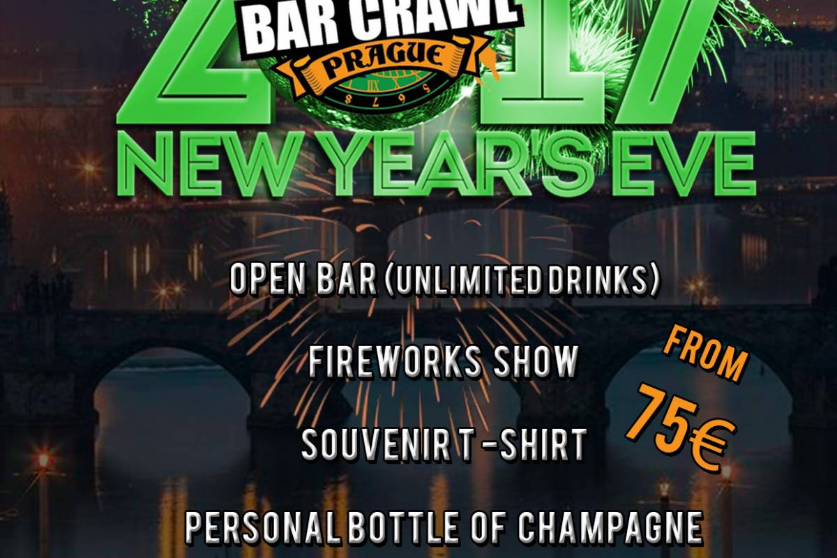 Clock Tower Bar Crawl Prague New Year's Eve Pub Crawl!
