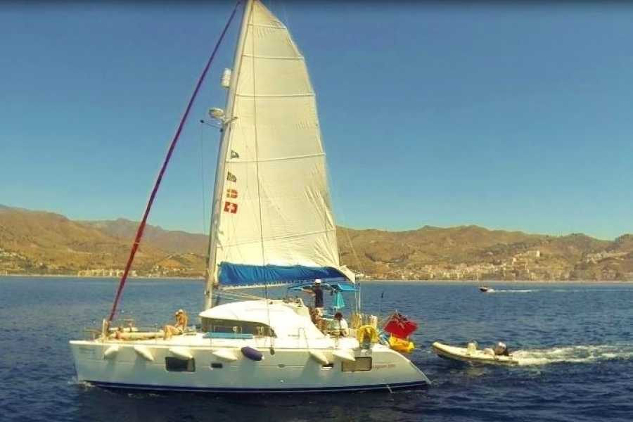 SailandPlay,SLU 4 Hour SUMMER 2020 Luxury Sailing Catamaran Cruise