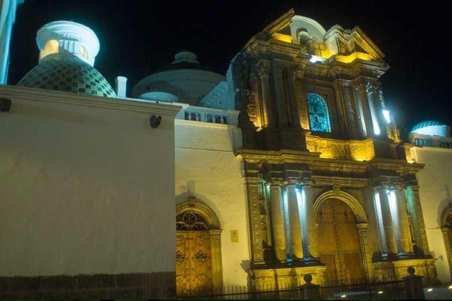 Gray Line Ecuador Urban Legends of Quito at night