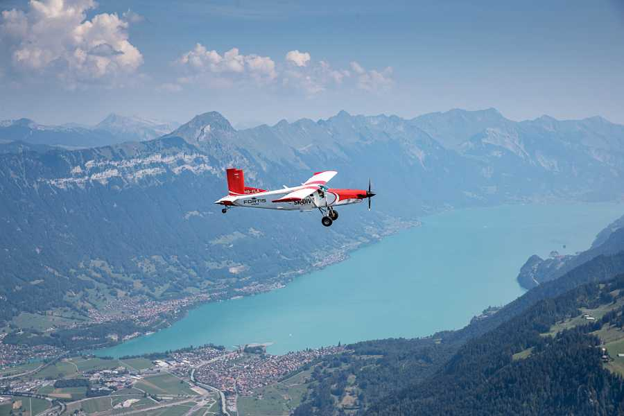 Skydive Switzerland GmbH Gletscherlandung: Interlaken
