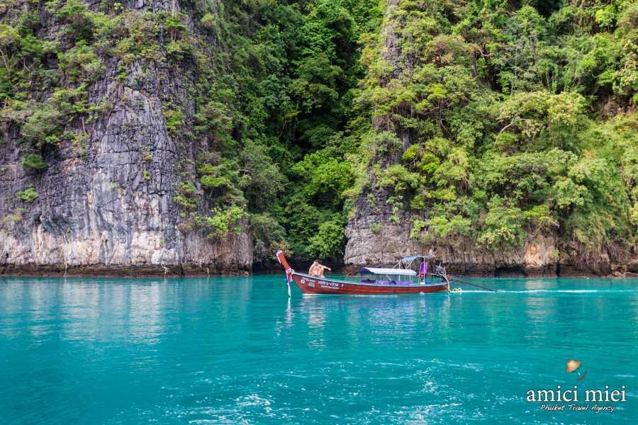 AMICI MIEI PHUKET TRAVEL AGENCY PHI PHI ISLAND TOUR – SUNRISE PROGRAM AM096