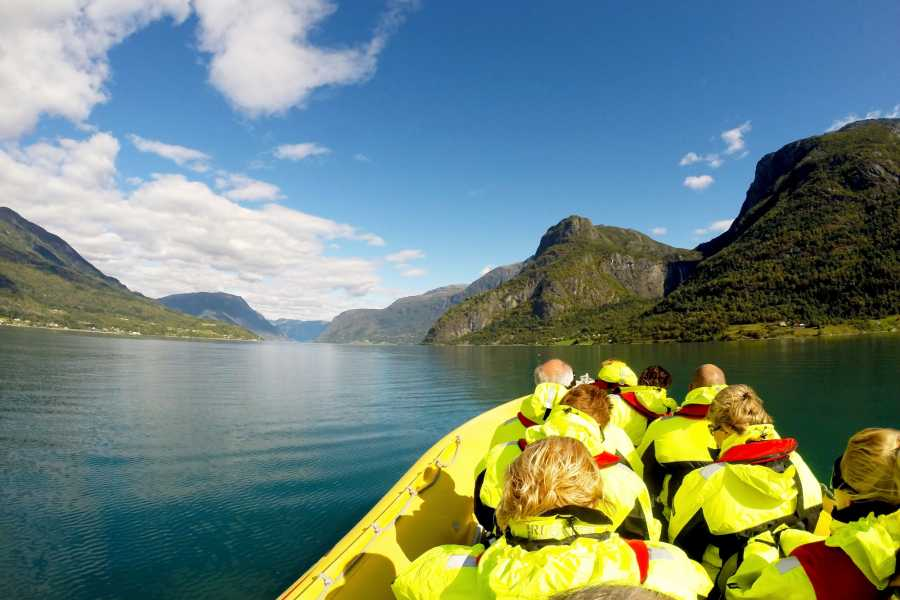 Adventure Tours Norway Fjord RIB Adventure + Waterfall Hike