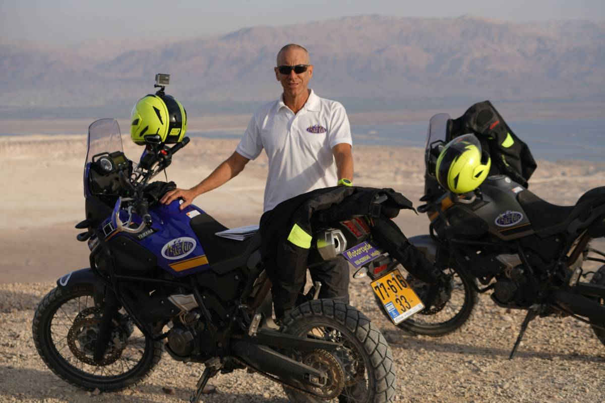 Bikelife - Motorcycle Tours in Israel 2 days in Southern Israel