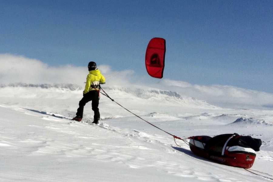 Kitesurfing.no Advanced Snowkite Course (2 days)