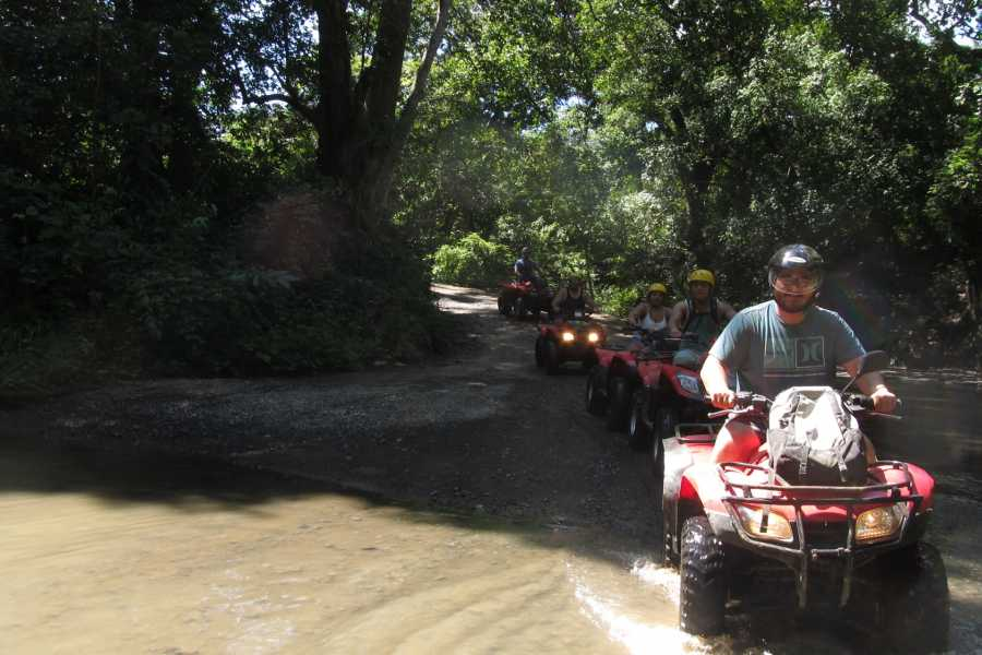 Congo Trail Canopy Tour ATV Mountain Tour, Guanacaste, Costa Rica.