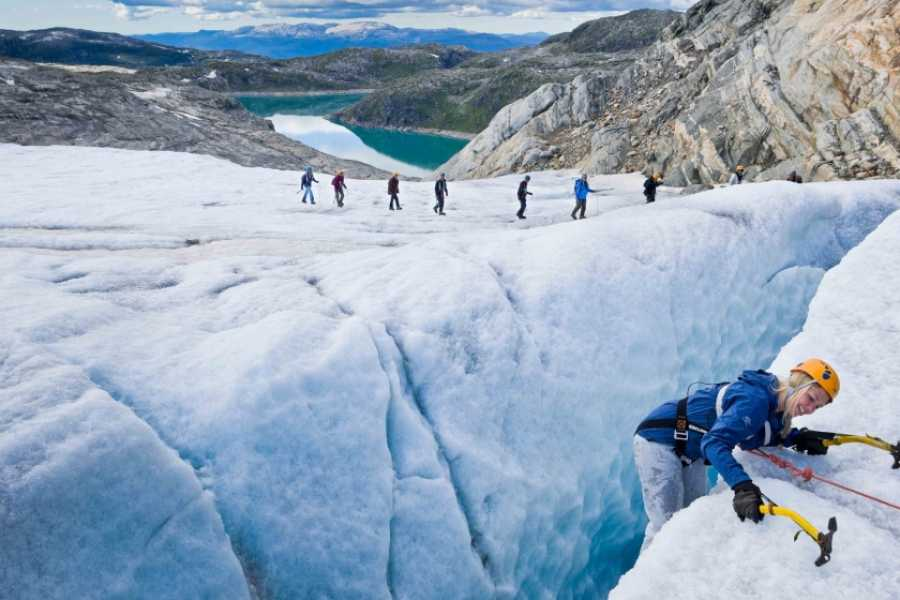 Norway Insight Combine glacier and Trolltunga