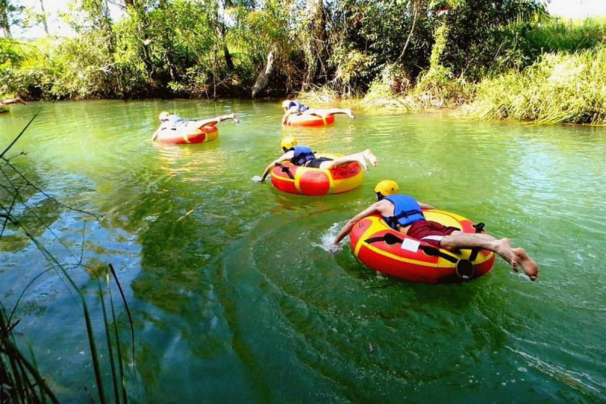 Check Point Acquaride y/o Bóia cross en Río Batatal (Eldorado)