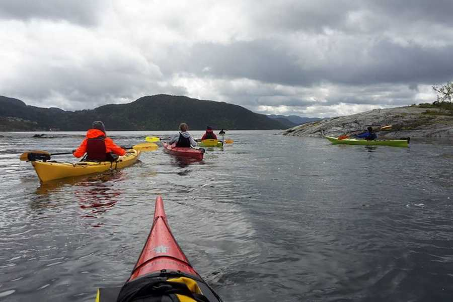 Fjordexpedition Guided kayak tour Jørpeland,daily