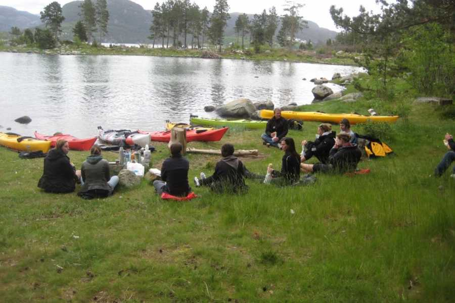 Fjordexpedition Guided kayak tour Jørpeland,daily