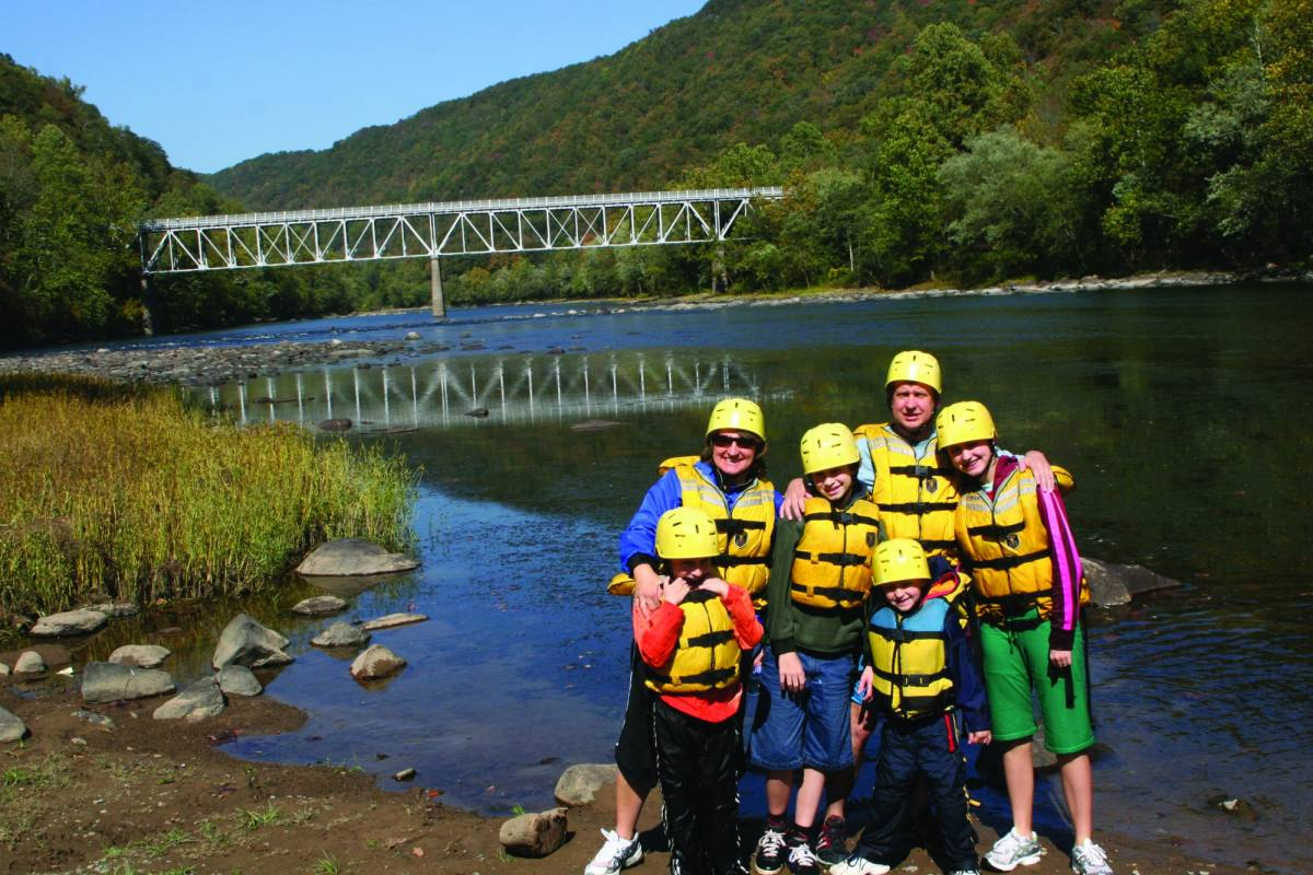West Virginia Adventures Family Day Trip with Lunch, Class I/II