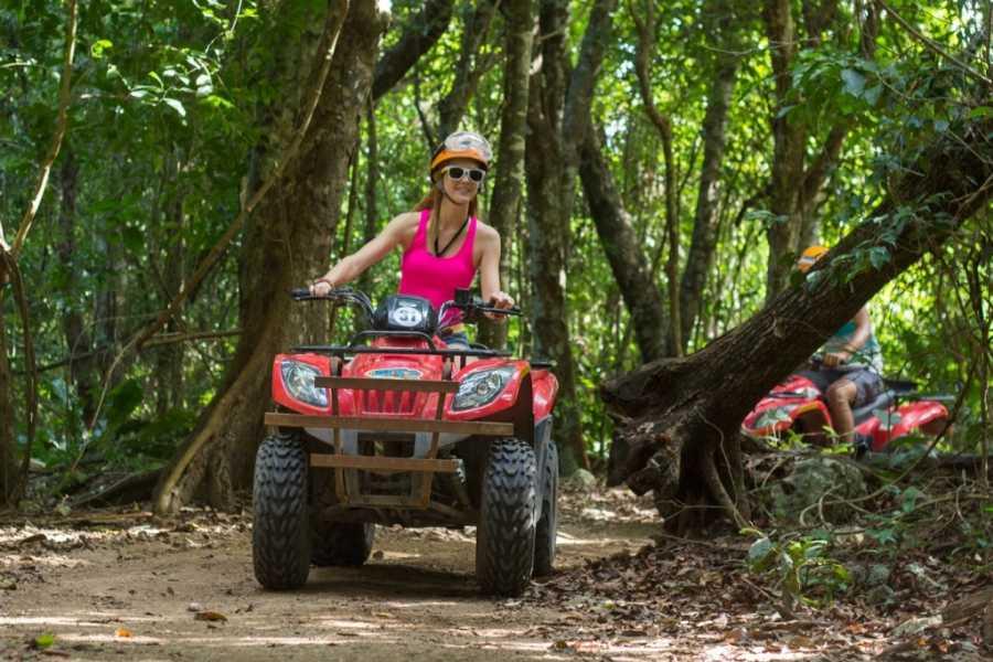 Cancun Vacation Experts ATV Y AVENTURA EN LA JUNGLA