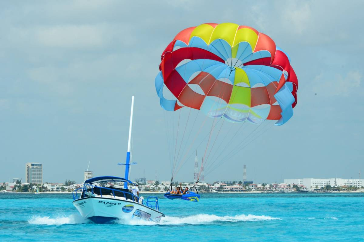 Cancun Vacation Experts AVENTURA EN PARAPENTE