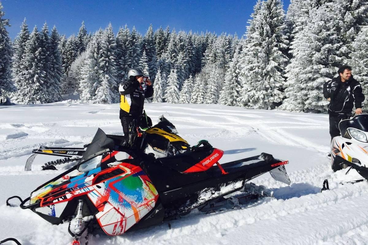 Wild-Trails Transylvania Snowmobile tour