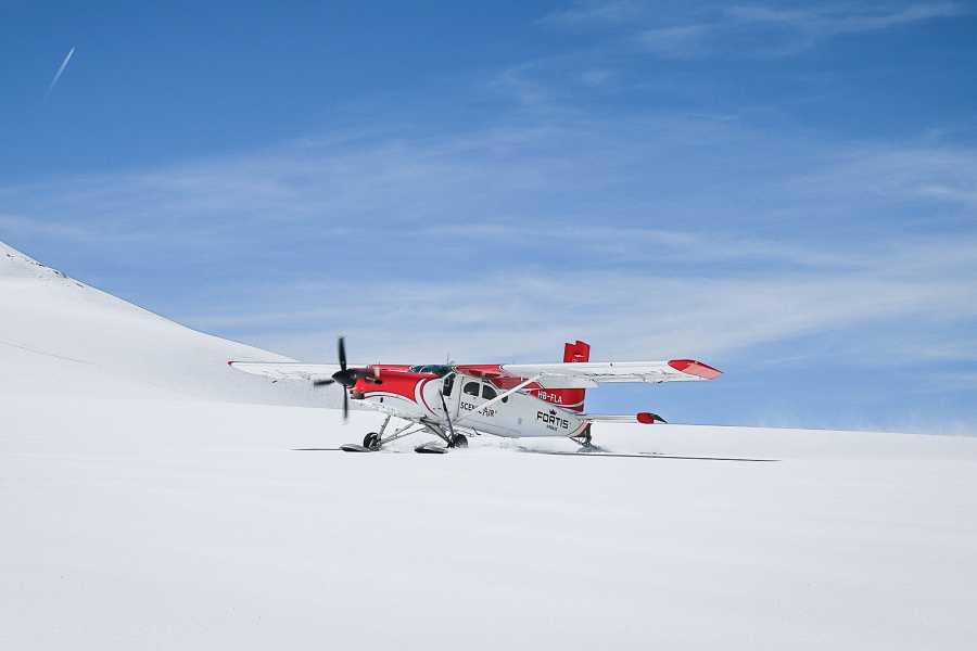 Skydive Switzerland GmbH Gletscherlandung: Matterhorn