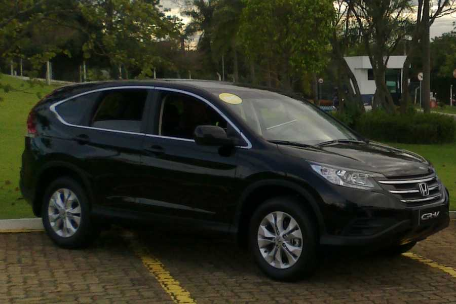 Check Point Aluguel carros executivos com motorista - Honda CR-V
